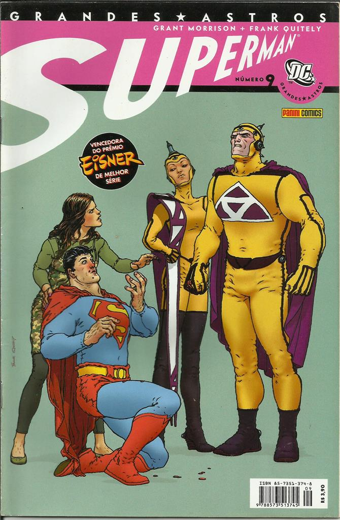 Grandes Astros Superman Nº 9