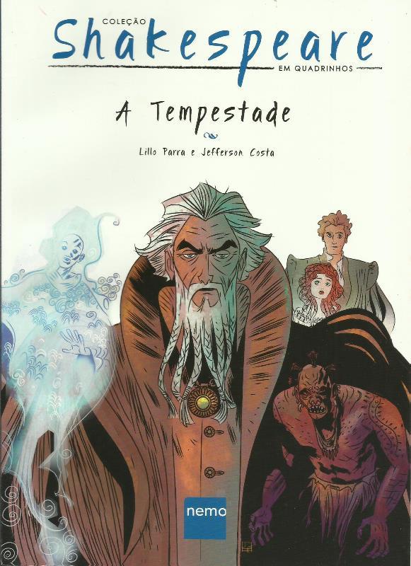 Coleção Shakespeare Em Quadrinhos N° 4 - A Tempestade