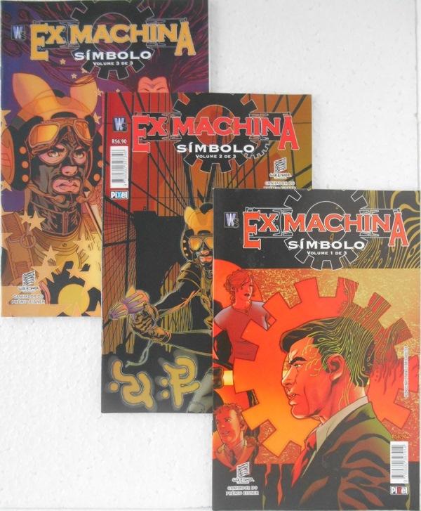 Ex Machina Símbolo - Minissérie Completa 3 Edições