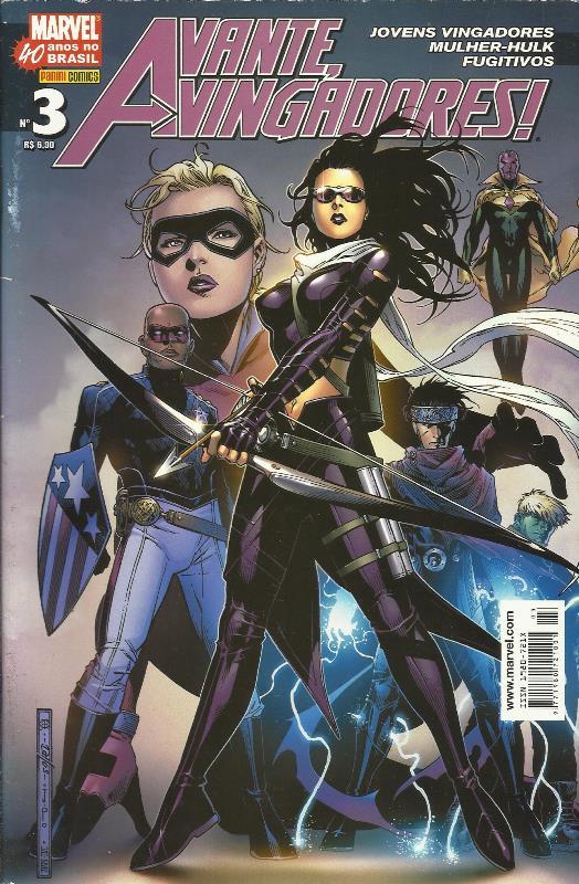 Avante, Vingadores! Nº 3 (1ª Série)