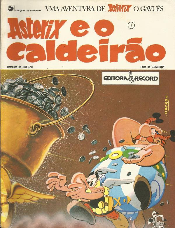 Asterix O Gaulês Nº 6 Asterix E O Caldeirão
