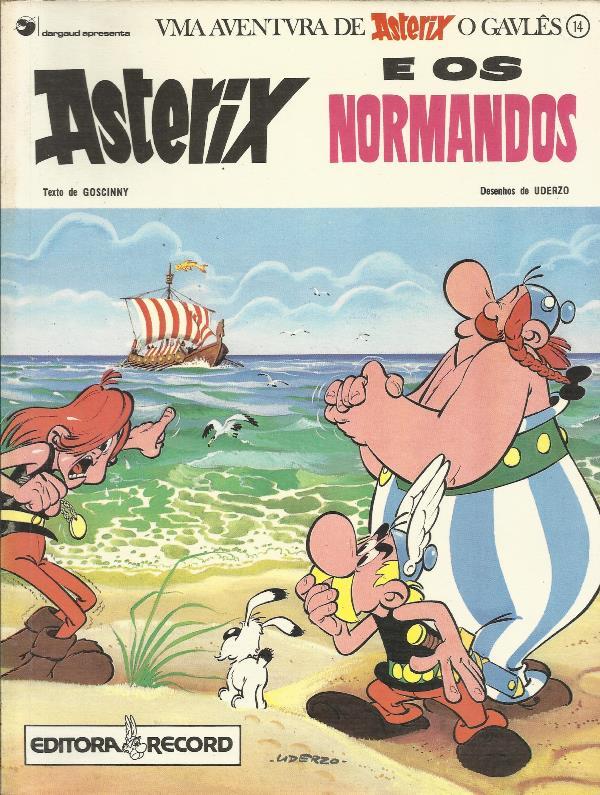 Asterix O Gaulês Nº 14 Asterix E Os Normandos