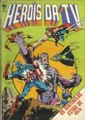 Heróis Da TV Nº 61 (2ª Série) C/ Página Do Dicionário Marvel