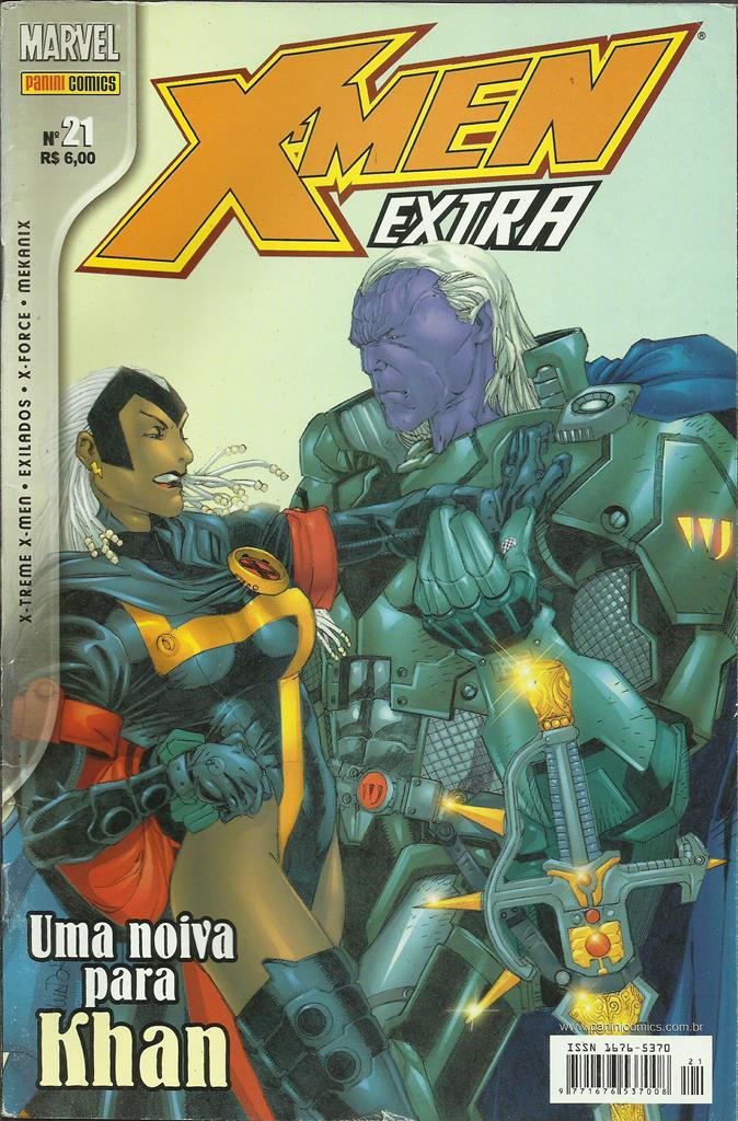X-men Extra Nº 21 (1ª Série)