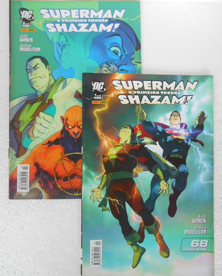 Superman E Shazam O Primeiro Trovão - Minissérie Completa