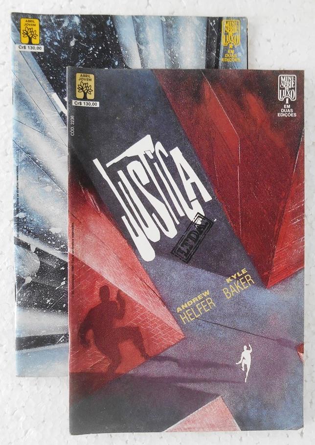 Justiça Ltda. - Minissérie Completa 2 Edições
