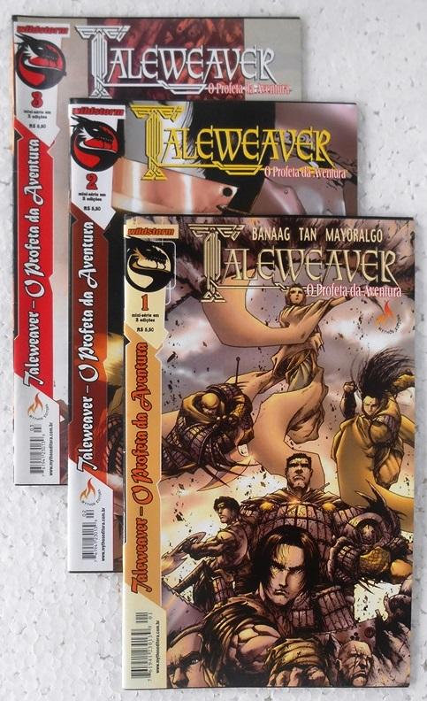 Taleweaver - O Profeta Da Aventura - Minissérie Completa 3 Edições