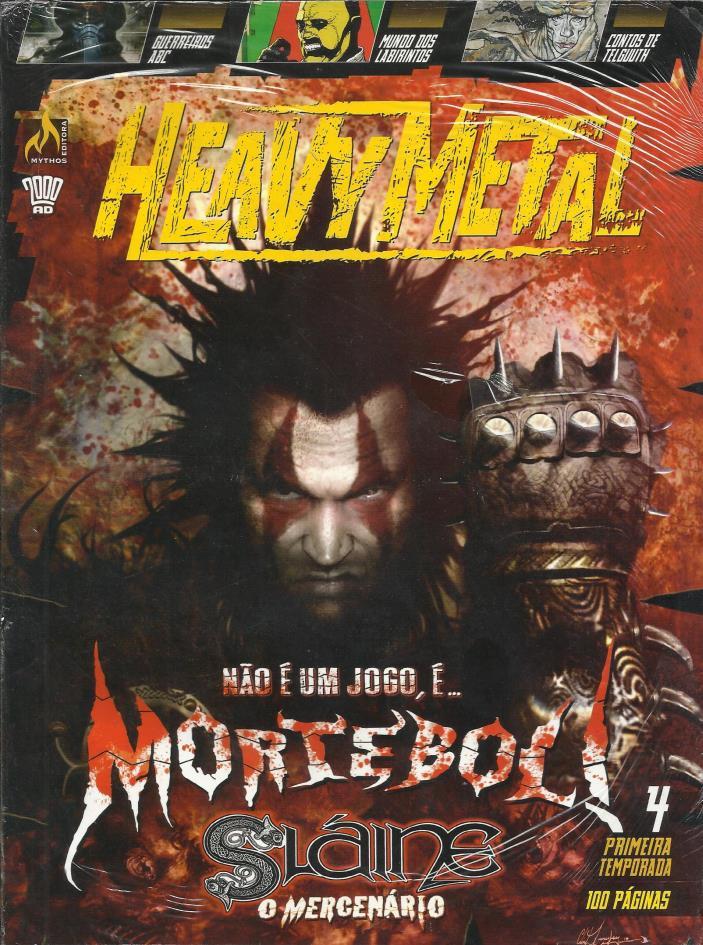 Heavy Metal - Primeira Temporada N° 4