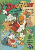 Ducktales - Os Caçadores De Aventuras Nº 1 (1ª Série)