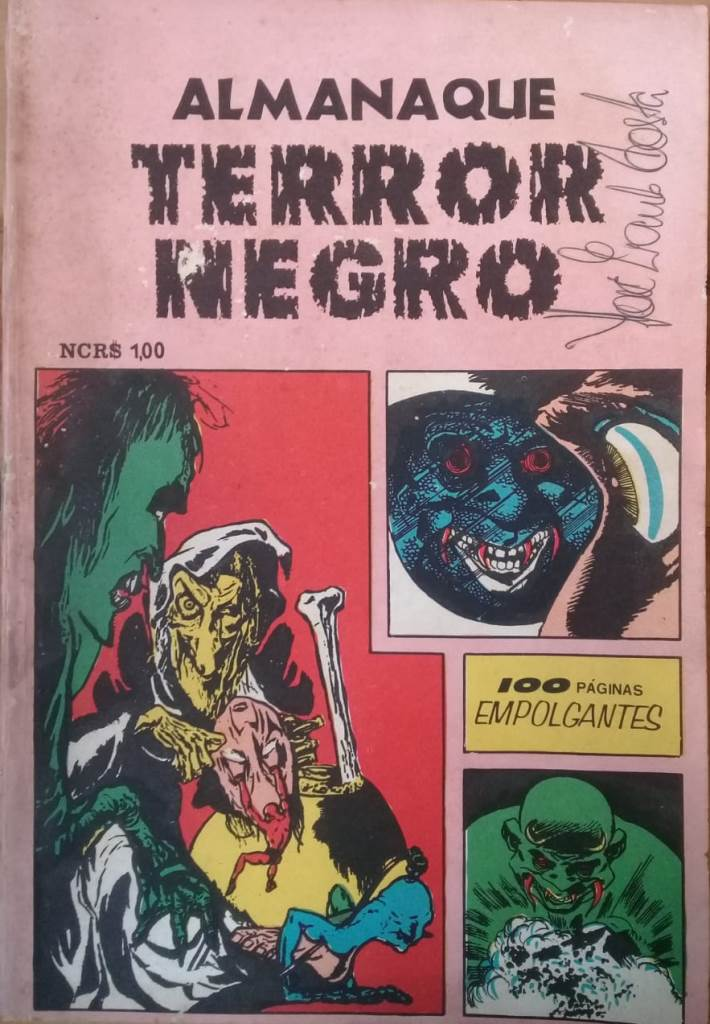 Almanaque Terror Negro Nº 1