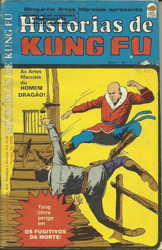 Histórias De Kung Fu N° 7