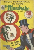 Mandrake Nº 128 Edição Superespecial De Férias