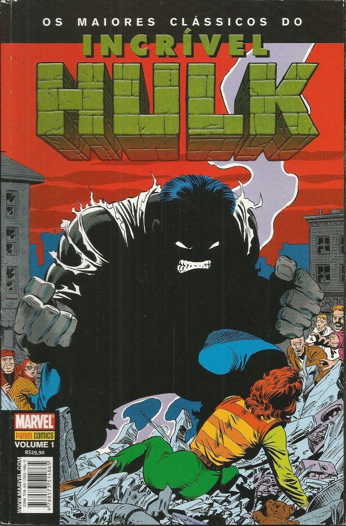 Os Maiores Clássicos Do Incrível Hulk Nº 1