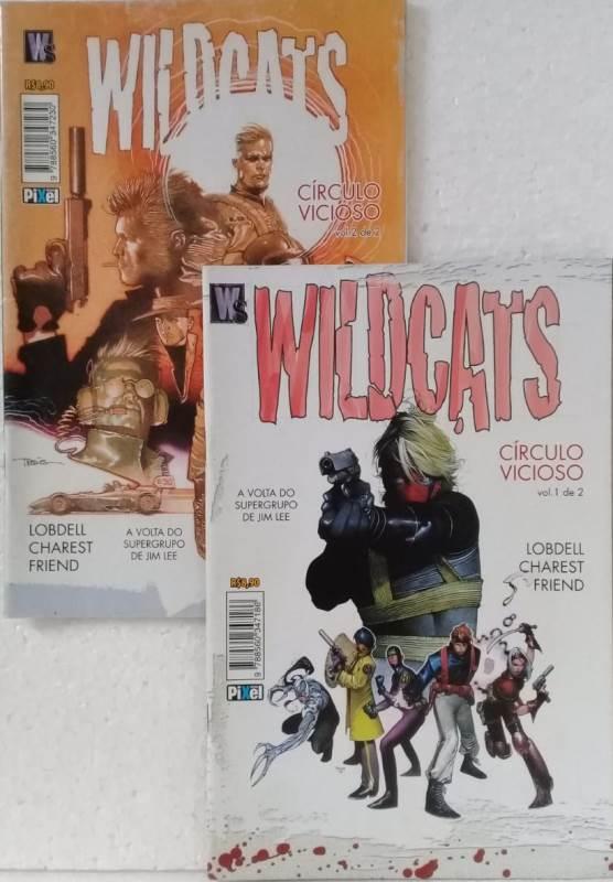 Wildcats - Círculo Vicioso - Minissérie Completa 2 Edições