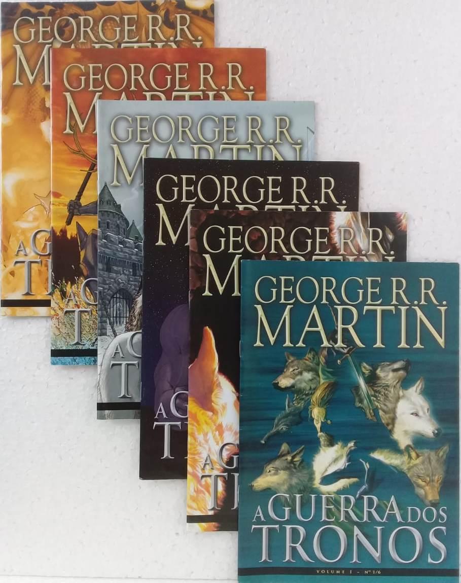 A Guerra Dos Tronos - Volume 1 Em 6 Edições
