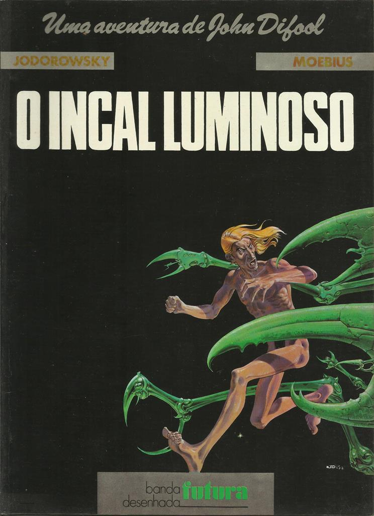 O Incal Luminoso - Moebius
