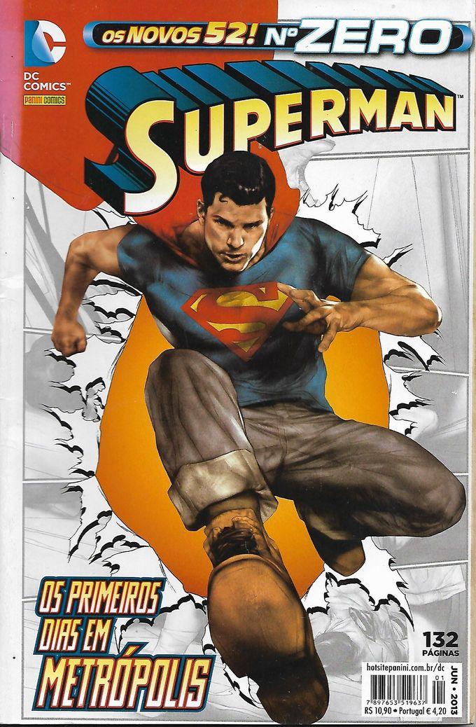 Superman Nº Zero (2ª Série)