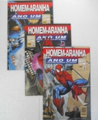 Homem-aranha Ano Um - Minissérie Completa 3 Edições
