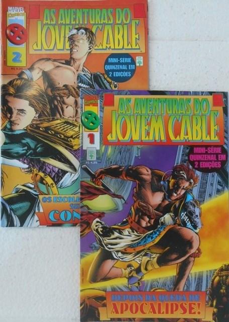 As Aventuras Do Jovem Cable - Minissérie Completa 2 Edições