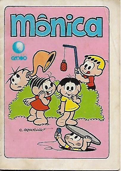 Mini-Revista Mônica - Danone