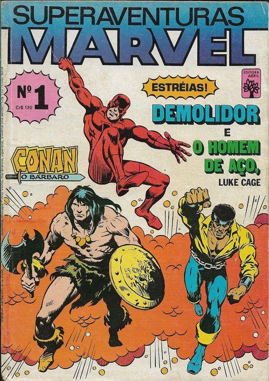 Superaventuras Marvel Nº 1