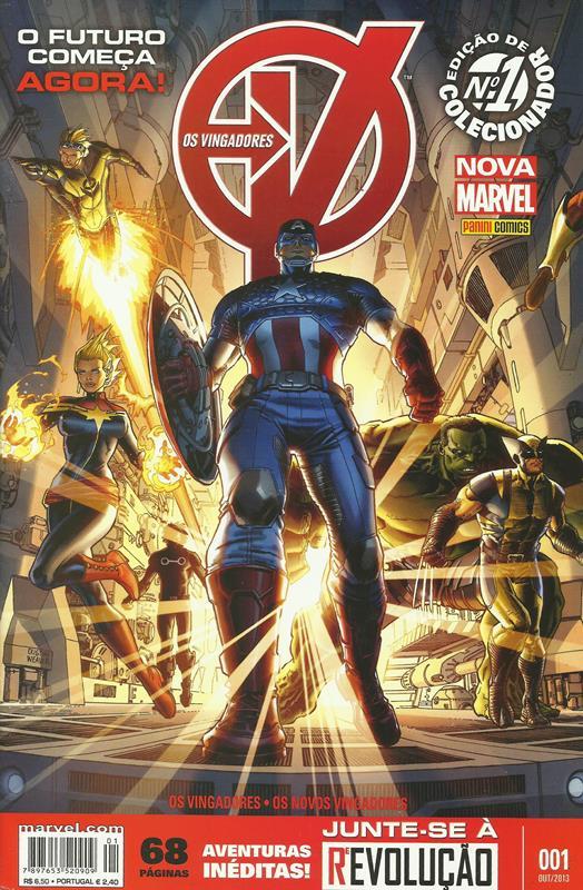 Os Vingadores Nº 1 (1ª Série)