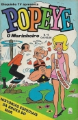 Bloquinho Tv Apresenta Popeye Nº 9