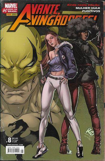 Avante, Vingadores! Nº 8 (1ª Série)