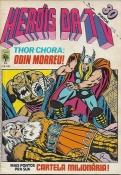 Heróis Da TV Nº 55 (2ª Série) C/ Página Do Dicionário Marvel