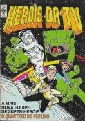 Heróis Da TV Nº 72 (2ª Série) C/ Página 221/222 Do Dicionário Marvel