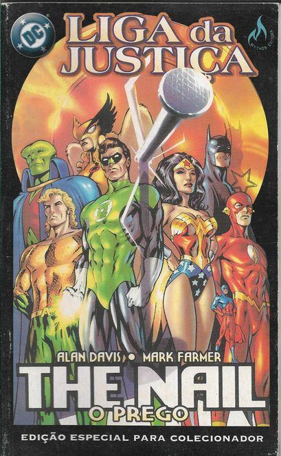 Liga Da Justiça - The Nail - O Prego - Edição Especial Encadernada