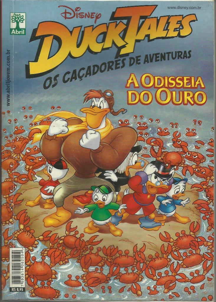 Ducktales: Os Caçadores De Aventuras - Odisseia Do Ouro