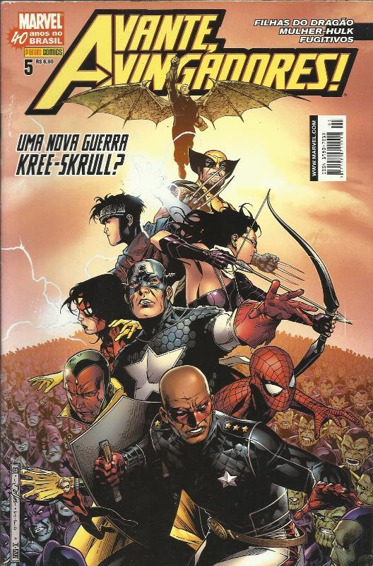 Avante, Vingadores! Nº 5 (1ª Série)