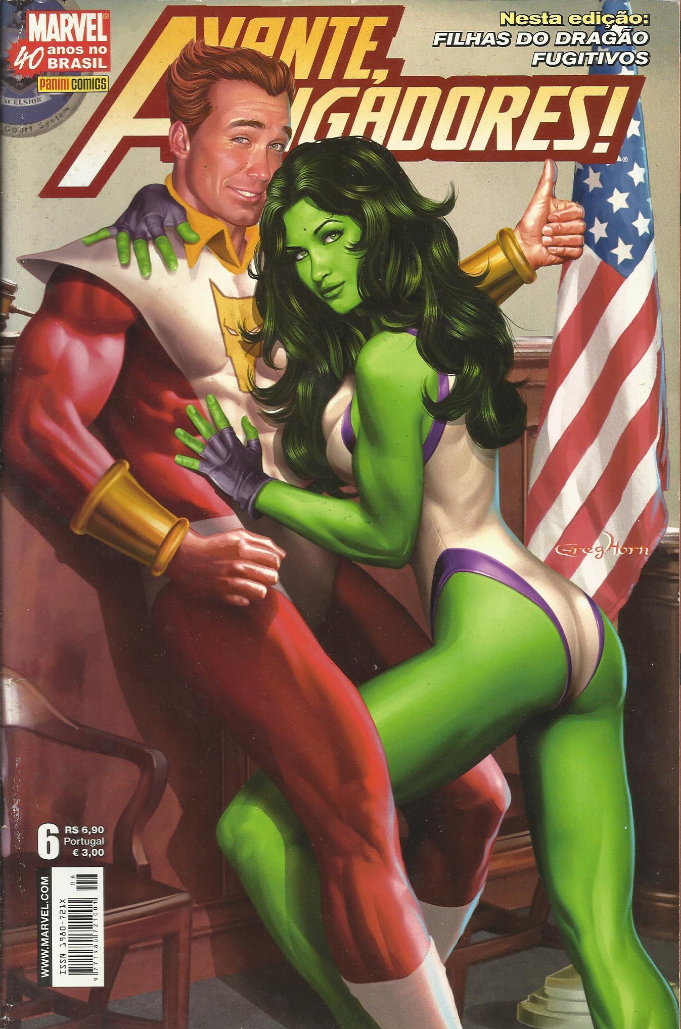 Avante, Vingadores! Nº 6 (1ª Série)