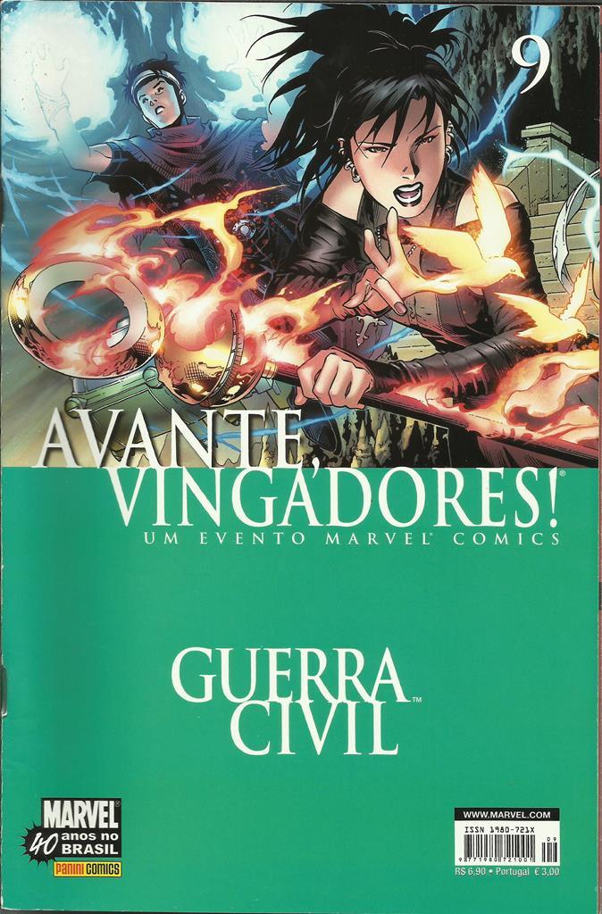 Avante, Vingadores! Nº 9 (1ª Série)