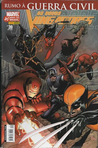 Os Novos Vingadores Nº 39