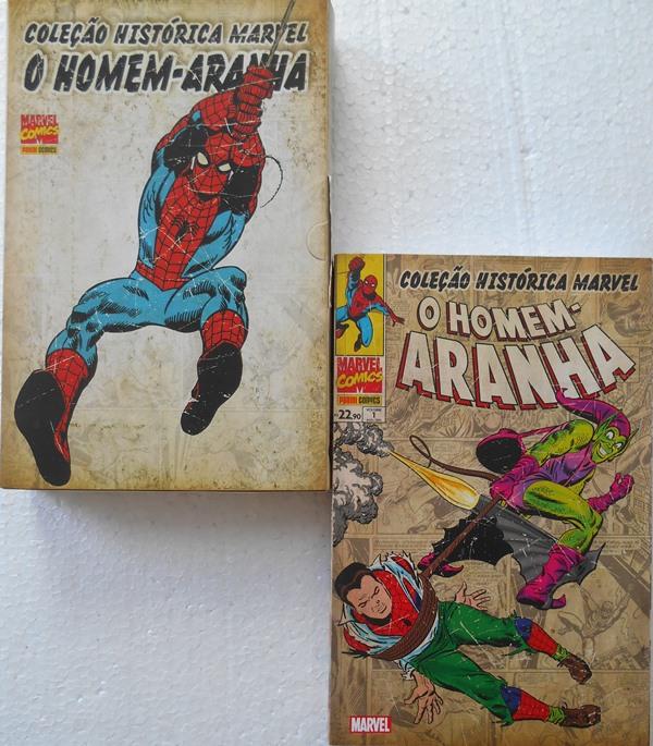 Coleção Histórica Marvel: O Homem-Aranha N° 1 A 4 + Caixa Box