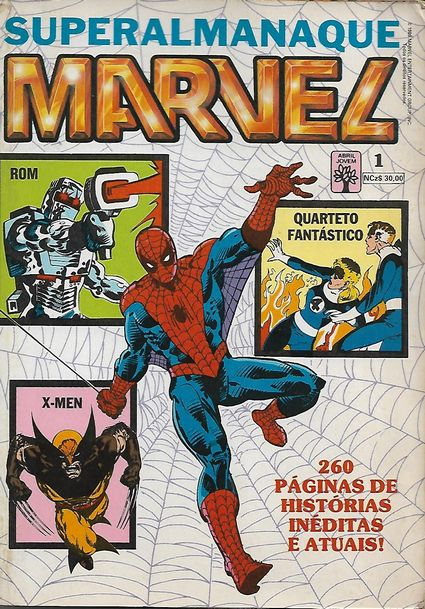 Superalmanaque Marvel Nº 1