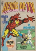 Heróis Da TV Nº 74 (2ª Série) C/ Página 241/242 Do Dicionário Marvel