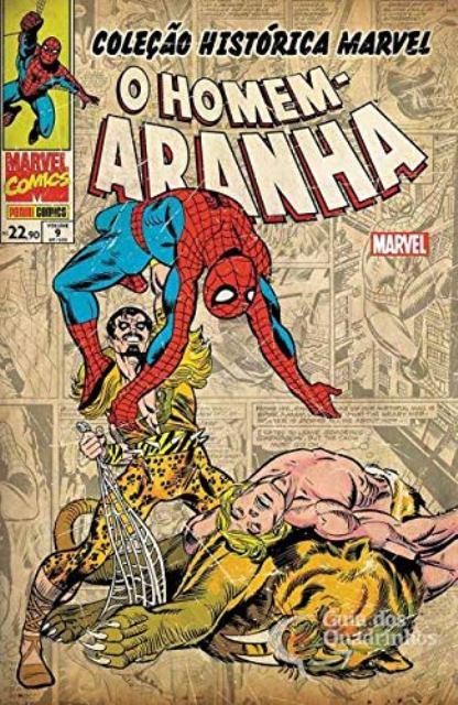 Coleção Histórica Marvel Vol 9 - O Homem-Aranha