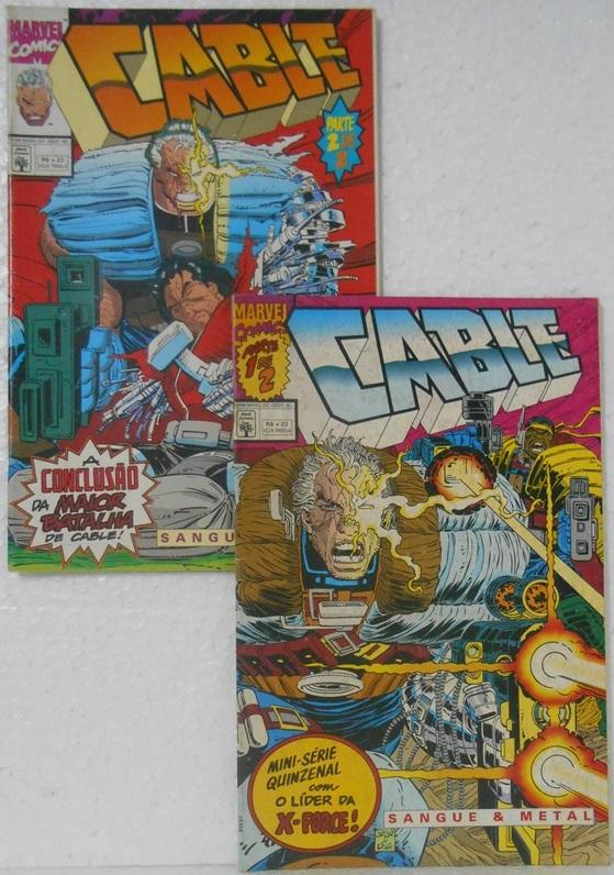 Cable Sangue E Metal - Minissérie Completa 2 Edições