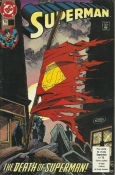 Superman - The Death Of Superman (Fac-Símile)