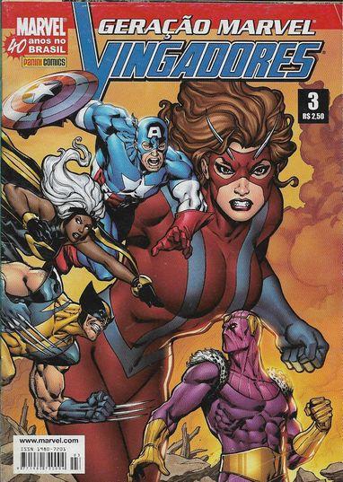 Geração Marvel - Vingadores Nº 3