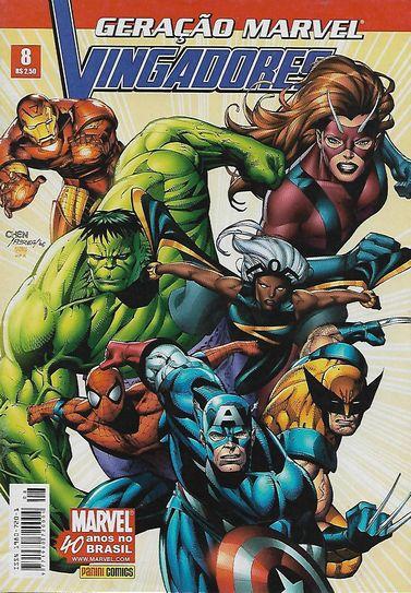 Geração Marvel - Vingadores Nº 8