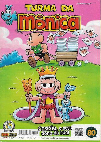Turma Da Mônica Nº 1 (2ª Série)