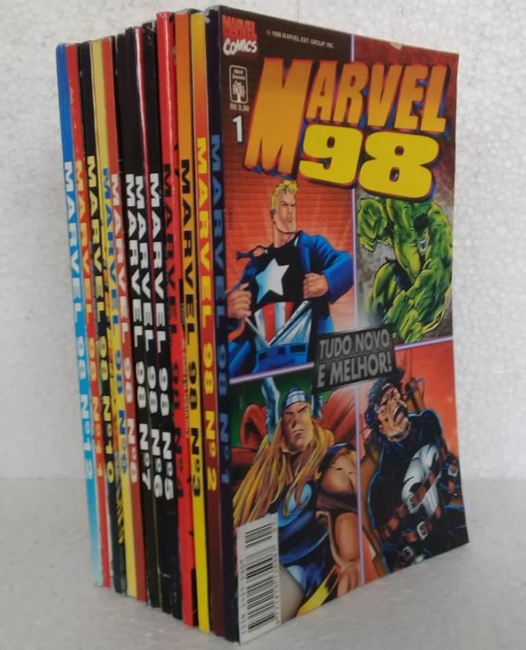 Marvel 98 - Coleção Completa 12 Edições