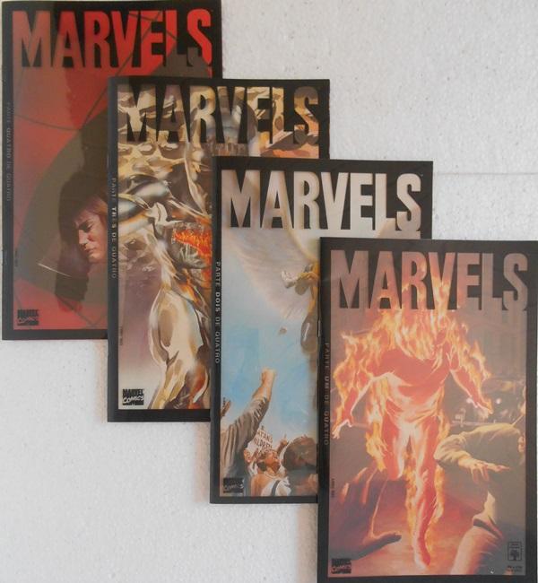 Marvels - Minissérie Completa 4 Edições