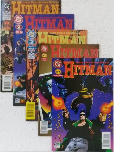 Hitman - Coleção Completa 5 Edições