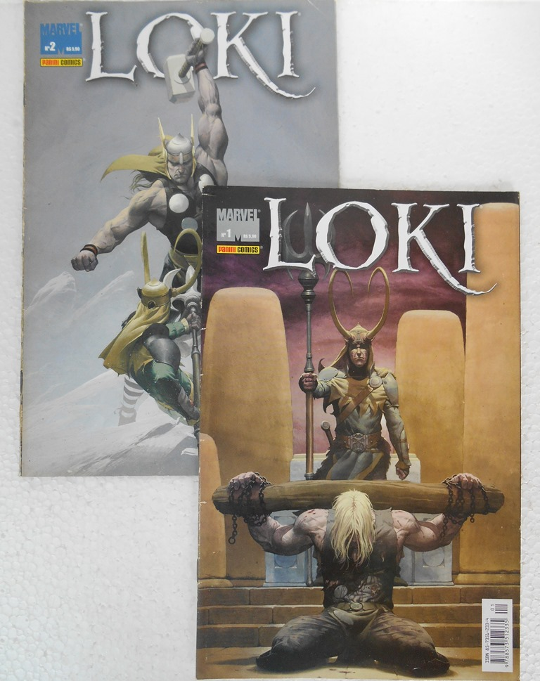 Loki - Minissérie Completa 2 Edições