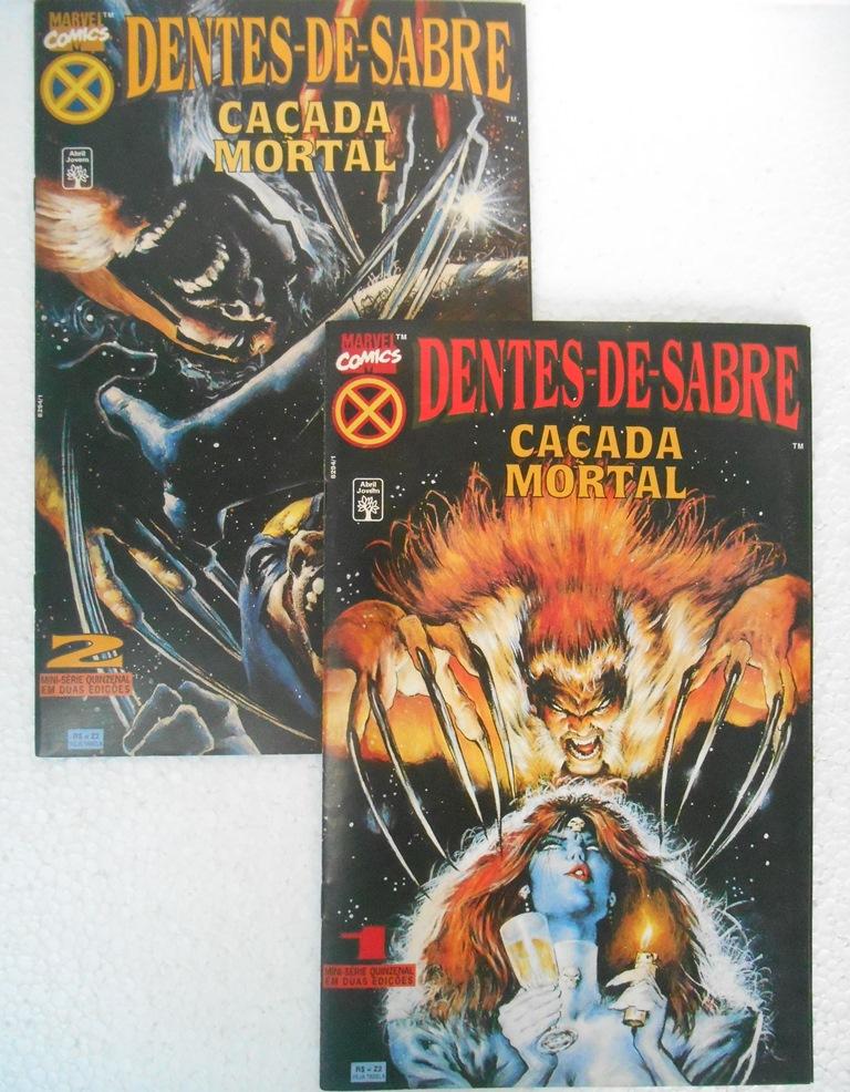 Dentes-De-Sabre Caçada Mortal - Minissérie Completa 2 Edições
